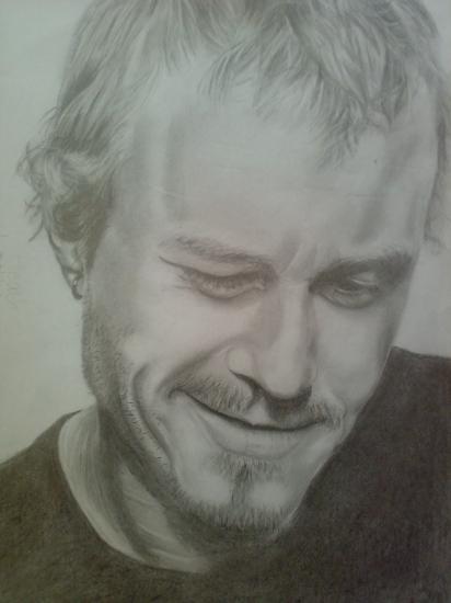 Heath Ledger by Sorella